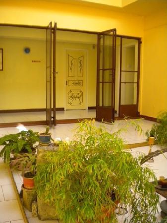 Hong Kong Guest House: patio intérieur