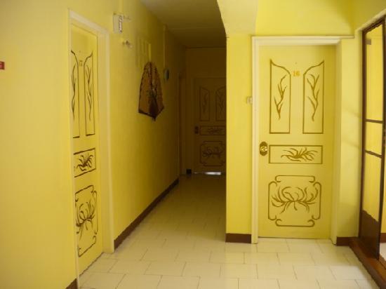 Hong Kong Guest House: couloir