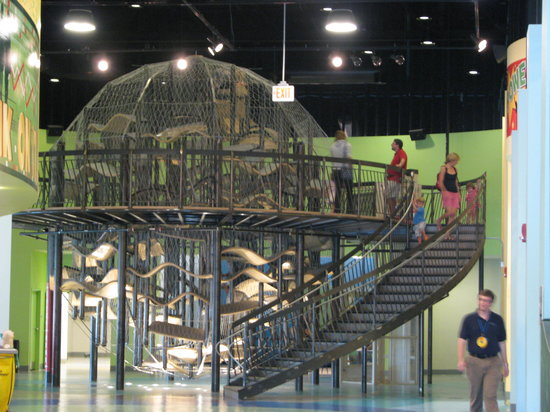 Delaware Children's Museum: Climbing ball