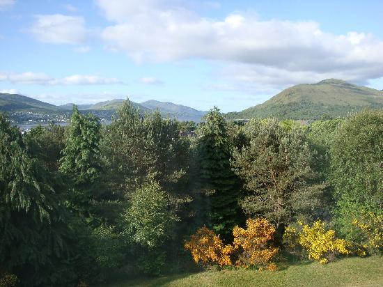 Braeburn Guesthouse : Fort William from Braeburn