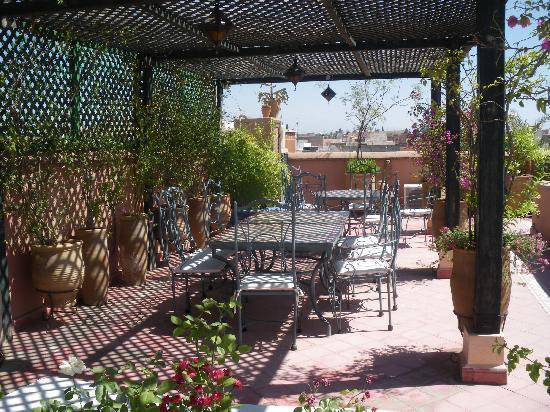 Riad Dar Dialkoum : La terrasse