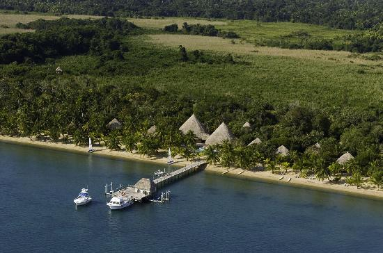 Stann Creek, Belice: Beachfront Kanantik Resort