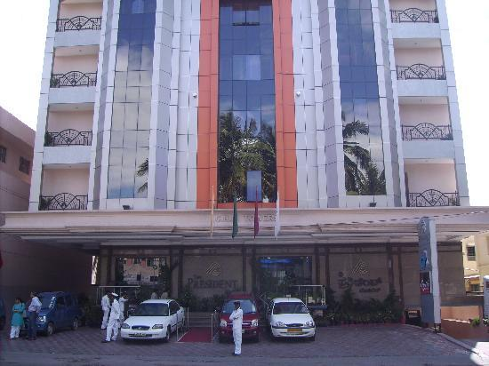 The President Hotel : Eingang