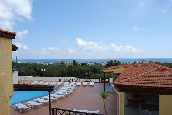 Mareva Apartments: View from our balcony
