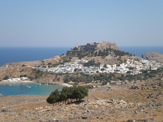 Villa Galini Lindos: acropolis view