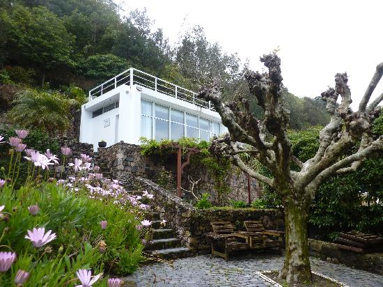 Quinta do Mar: The pavilion is where breakfast is served, and dinner if you are lucky!