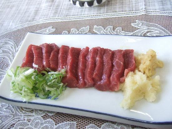 Fukumishokudo: 馬刺し
