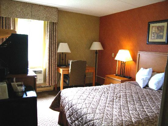 Days Inn Duluth/By Miller Hill Mall: Very small Room 135