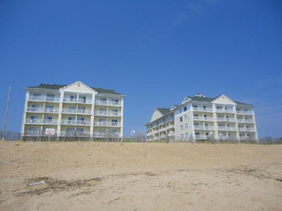 hilton garden inn outer bankskitty hawk hotel from beach - Hilton Garden Inn Outer Banks