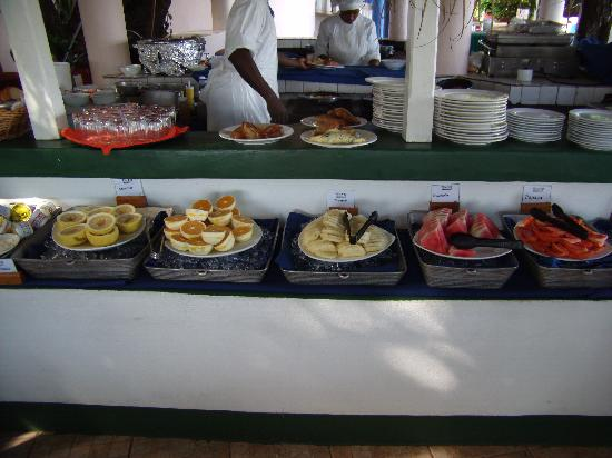 Franklyn D Resort & Spa: Breakfast.