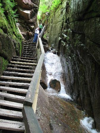 Franconia, NH: Flume Gorge Boardwalk