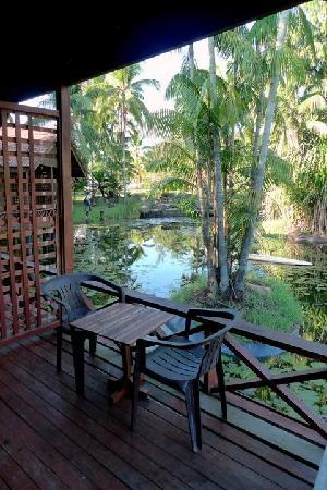 Tanjung Inn: View of the lake from the balcony