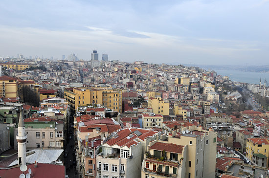 Bitinya Day Tours: A view of Istanbul from the Galata Tower