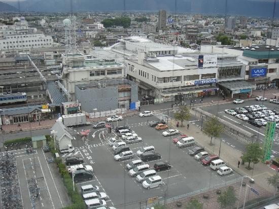Premier Hotel -CABIN- Matsumoto: Just opposite the station!