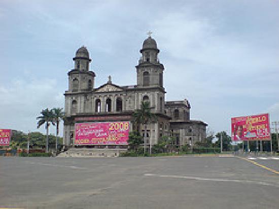 alte Kathedrale Managua