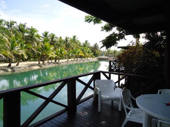 Musket Cove Island Resort & Marina: Lagoon Bure View
