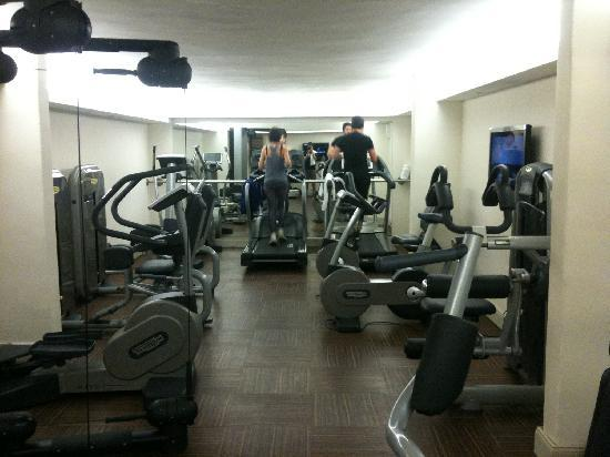 Hotel Le Lana : salle de sport