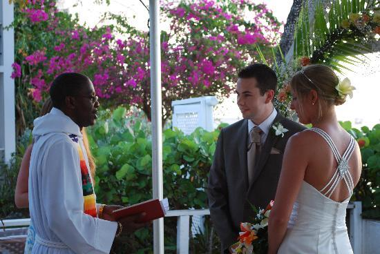 Mango Bay All Inclusive: Stunning location for the ceremony