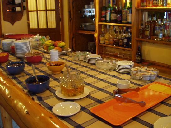 Hosteria Cumbres Blancas: Desayuno