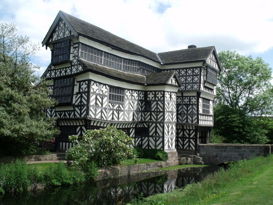 Congleton, UK: Little Moreton Hall.