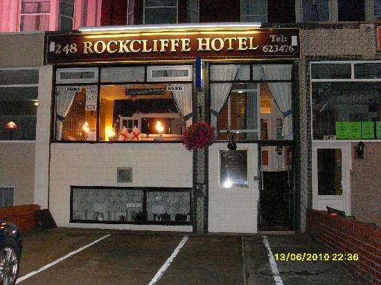 The front of Rockcliffe Hotel!