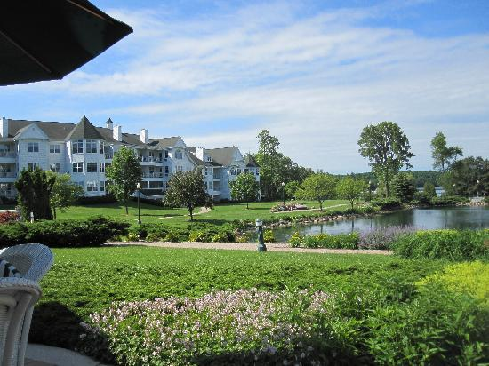 The Osthoff Resort: One view from the patio