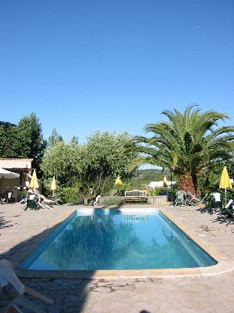 Vacances a la Ferme Languedoc: pool st Martin du pin