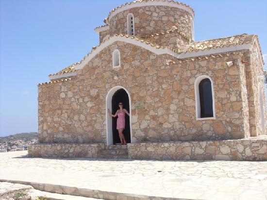 SunConnect Protaras Beach - Rising Star Hotel: Church on the hill
