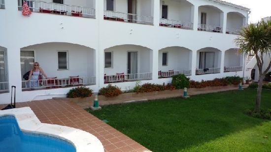 Hostal La Palma : Back of the hostel