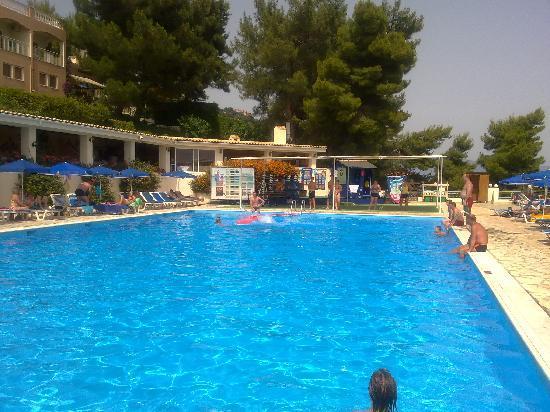 Nissaki, Hellas: The 'fun' pool