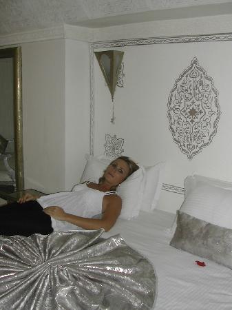 Riad Argan: chambre Perle, une merveille