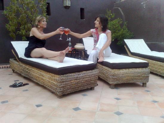Riad Argan: terrasse
