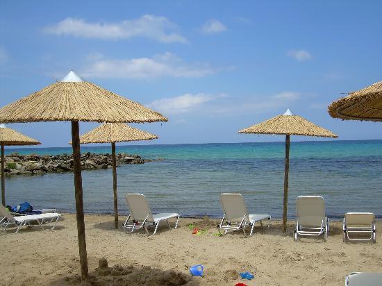 Atlantica Eleon Grand Resort & Spa: La plage