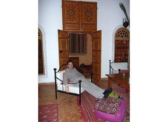 Inside Riad Safir