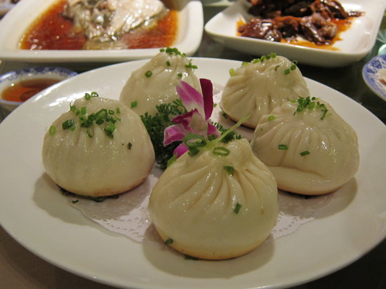 ShangHai Xi Jia HuaYuan (JingAn): Mini Pork Buns
