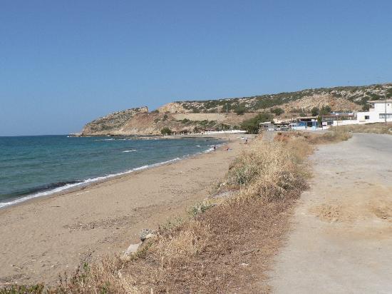 Skaleta, Grecia: Begeti Bay Hotel, Rethymnon, Kreta, Griechenland, Sandstrand ca 300 Meter vom Hotel entfernt