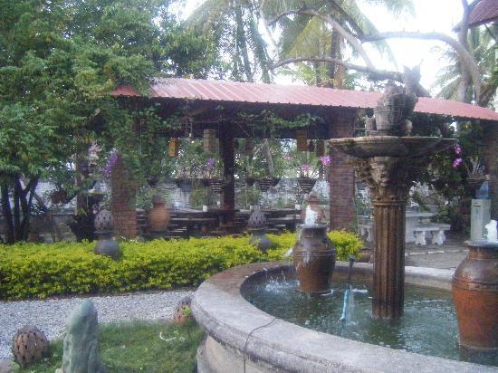 Sabaidee Guesthouse : la salle  pour le petit dejeuner tres charmant