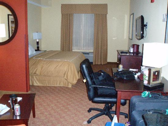 Comfort Suites Suffolk-Chesapeake: our suite