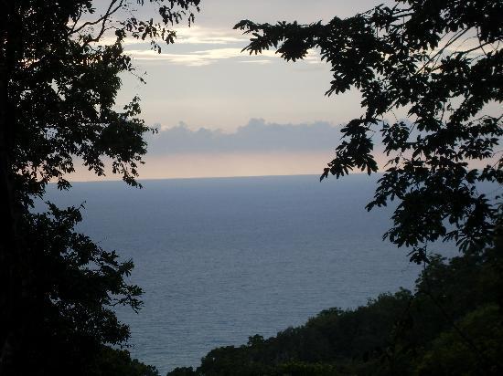 El Remanso Lodge: the view from la guinda