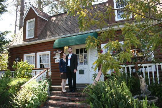 J. Patrick House Bed and Breakfast Inn: Quaint and clever