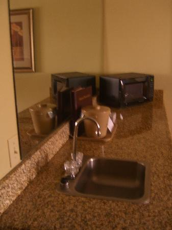 The Marina Inn: Wet bar area