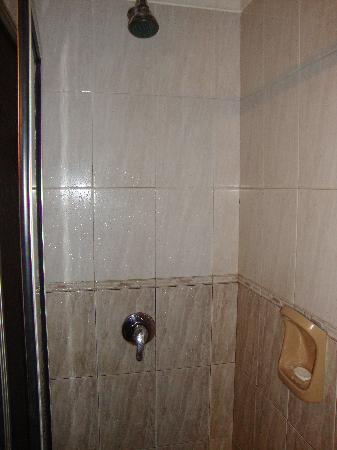 Hotel Iberia: Chuveiro com água quente