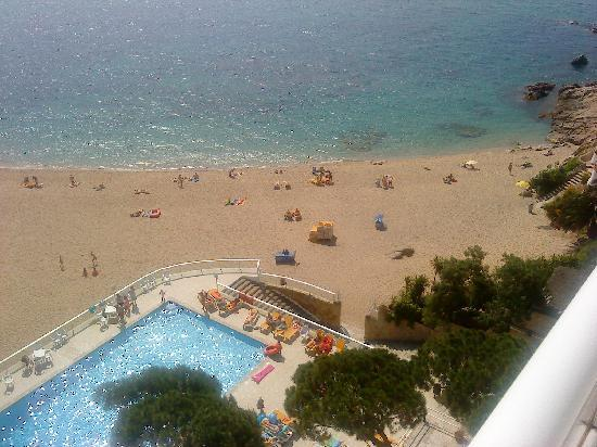 H·TOP Caleta Palace: View from hotel bedroom