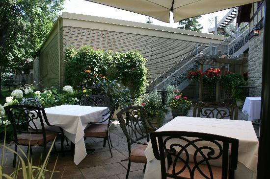 529 Wellington: Patio Shot
