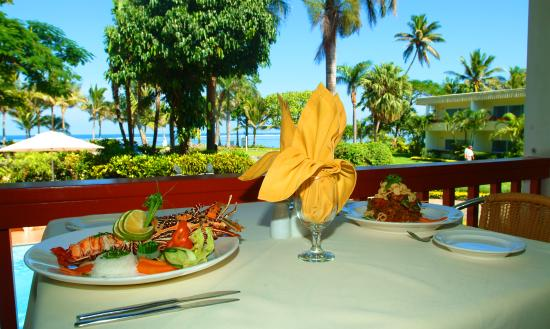 Ocean Terrace Restaurant : The perfect view