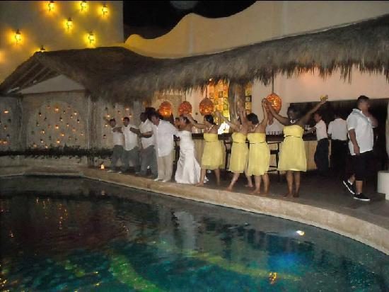 Hotel Playa Fiesta: Perfect way to end the celebration!