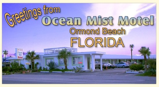 Ocean Mist Motel: view from the beach