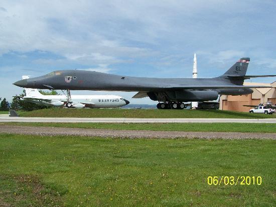South Dakota Air and Space Museum : B-One Display