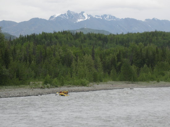 Sutton, AK: whitewater rafting