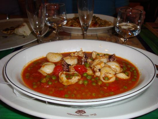 La Sagrestia - Ristorante Pizzeria: seppe i piselli